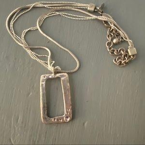 Chico's Silver Tone Necklace